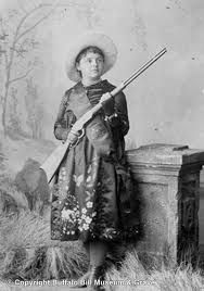 Lillian Smith; Buffalo Bill's Wild West sharpshooter; Image Courtesy Buffalo Bill Museum Photo Archive (BuffaloBill.org; BBWW; cast