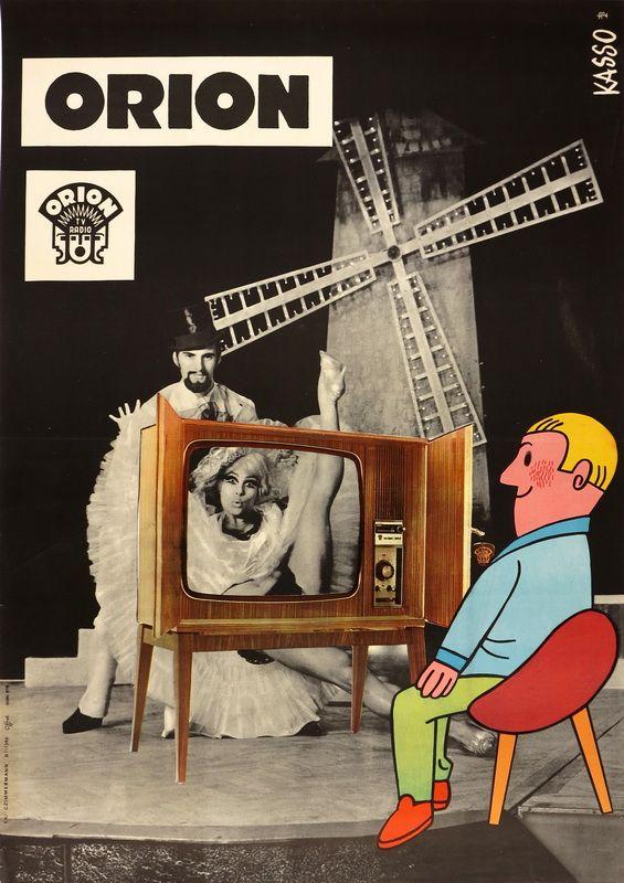 ORION TV RÁDIÓ - VICTORIA SUPER Grafikus: Kasso Nyomda: Offset nyomda - Dátum: 1971