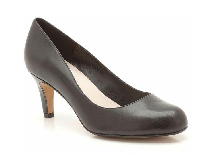 Discount Womens shoes Pumps Clarks ALWAYS BRIGHT 26111047 4 black suede Online Sale