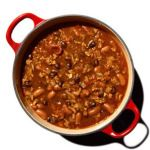 Named for the gorgeous pint of Guinness it contains, this thick, meaty turkey chili is ideal to make on a lazy Sunday as it takes time to simmer. on goop.com. http://goop.com/recipes/dublin-chili/