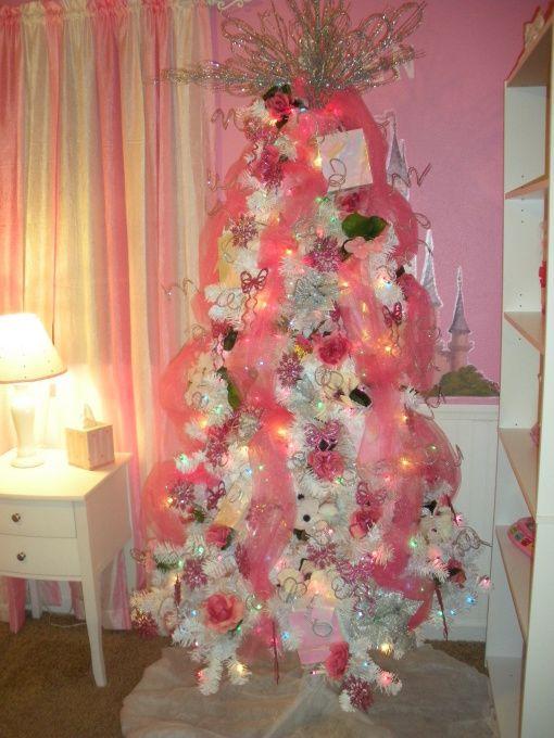 ピンクのクリスマス木