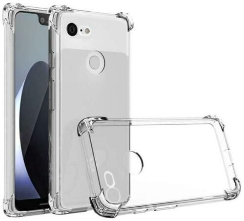 separation shoes d6ca6 cc3c5 Crystal Clear Shockproof Bumper Case For Google Pixel 3 Heavy Duty ...