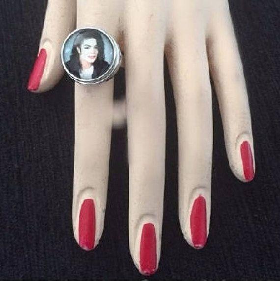 Michael Jackson ring Michael Jackson adjustable transform