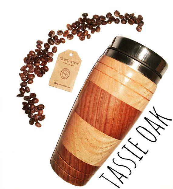 everyday Coffee Traveller Wood Wooden New Timber Gift