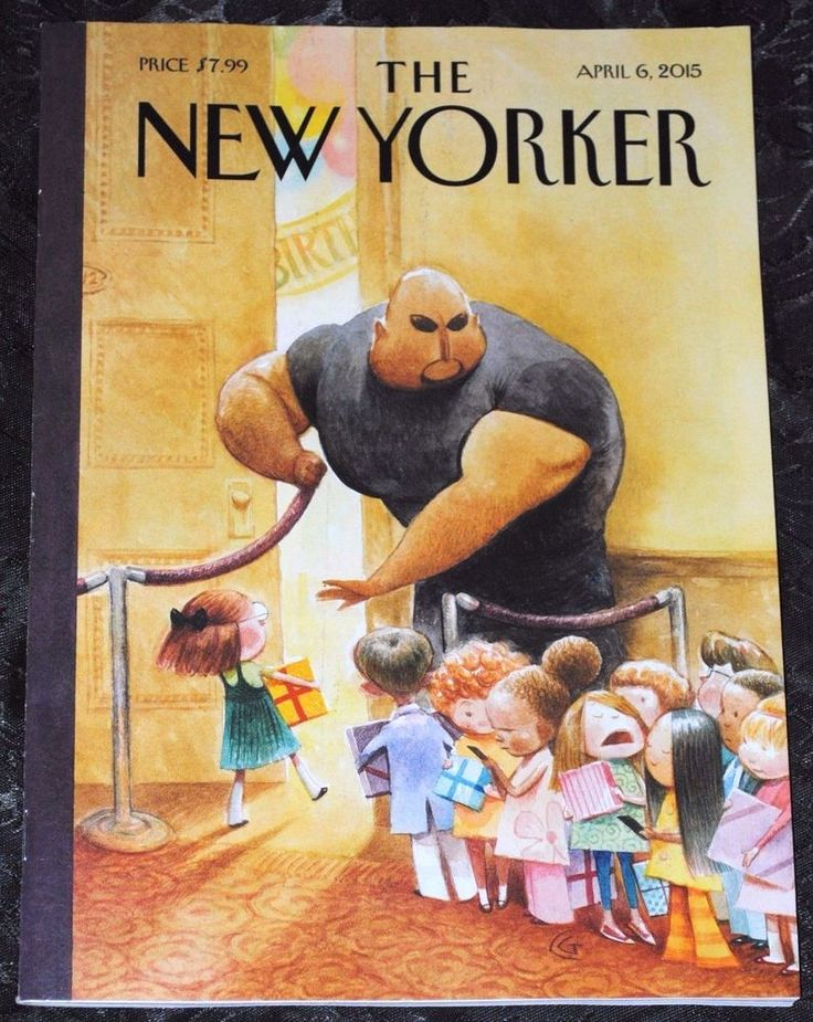 THE NEW YORKER MAGAZINE APRIL 6, 2015