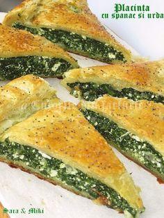 » Placinta cu spanac si urdaCulorile din Farfurie