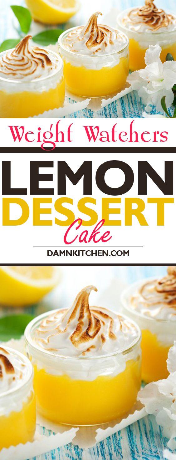weight watchers recipes with points Lemon Dessert