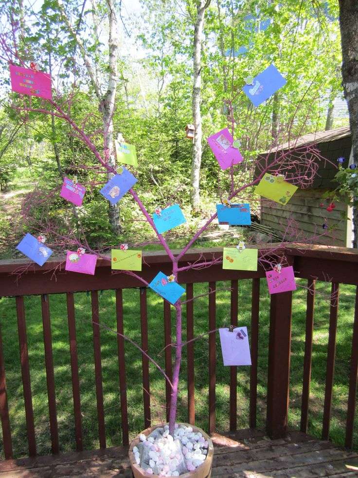Idea For A Bridal Shower Money Tree Decorate Coloured