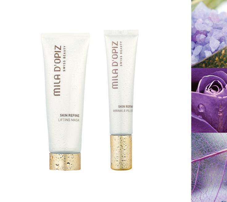 Mila d'Opiz Australia - Skin Refine Lifting Mask & Wrinkle Filler. A new generation of optimal skin changing products.