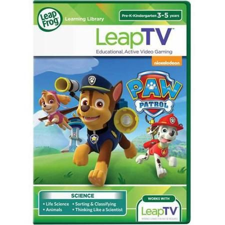 LeapFrog LeapTV PAW Patrol: Storm Rescuers Educational, Active Video Game - Walmart.com