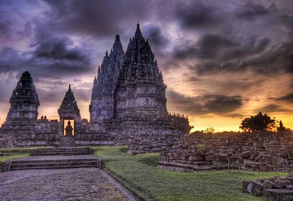 prambanan temple. Central Java, Indonesia