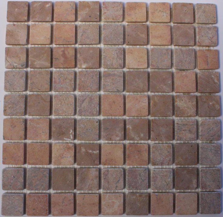 Rosso Parquet Mosaic Tile