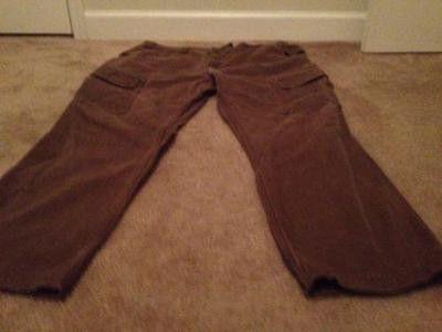 Rocky OutDoor Gear Men's Cargo Work Pants Heavy Sz 44 X 32 Brown