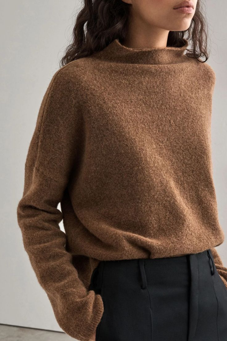 This but with a turtleneck