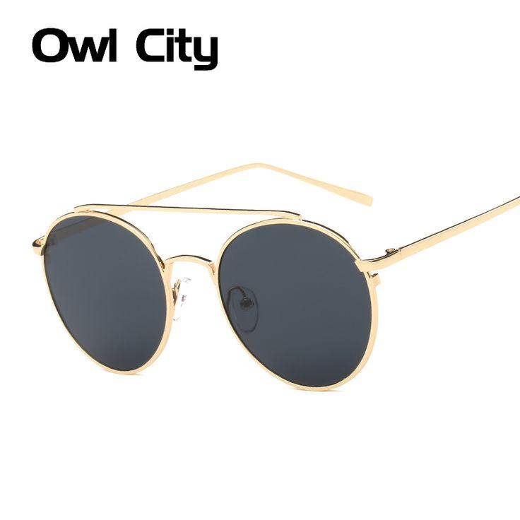 Fashion Oval Women Sunglasses New Brand Design Mirror Flat Rose Gold Vintage Sun glasses UV400 Unisex Female Male Eyewear #Affiliate