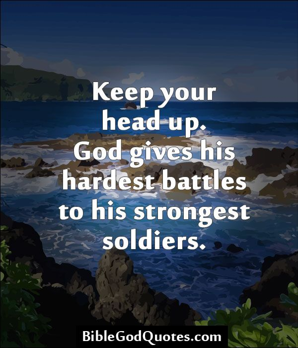 Be strong little soldier strong god life quote soldier