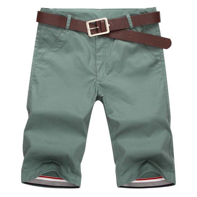FGKKS Shorts Men 2017 New Summer Fashion Mens Shorts Casual Cotton Slim Bermuda Masculina Beach Shorts Joggers Trousers Shorts