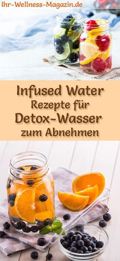 Infused Water – 40 Rezepte für Detox-Wasser zum Abnehmen