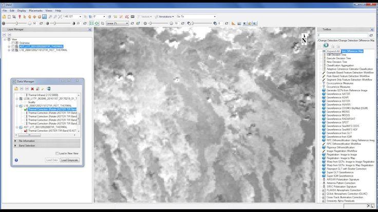 Compare Registration of ASTER L1T and L1B TIR to Landsat8 TIR