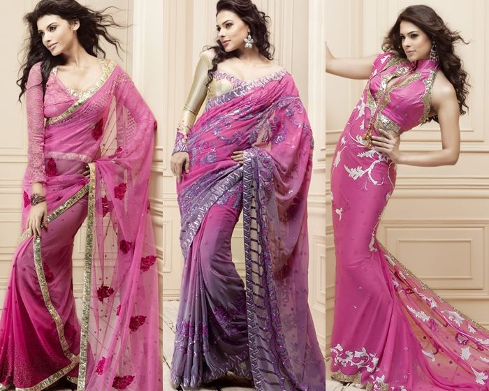 Manish Malhotra Saree Collection 2014 | Latest Indian Sarees