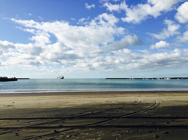 Featured  #ship #porttaranaki #sailawaywithme #turquoise #blue #white #sand #clouds #tyretracks #water #journey #featured #prints #posters #greetingcards #framedprints #canvasprints #acylicprints #metalprints #phonecases #throwpillows #duvetcovers #showercurtains #totebags #tshirts #apparel