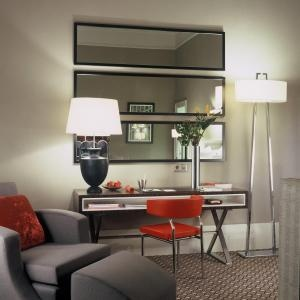 Stack three full-length mirrors horizontally