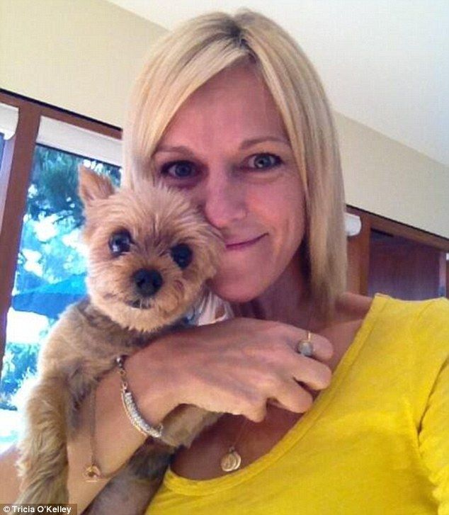 Yay....a happy ending for Little Walter! Reunited: Tricia O'Kelley's Yorkshire Terrier Walter was returned by dognappers after a two day ordeal