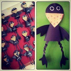 cone shaped crow craft