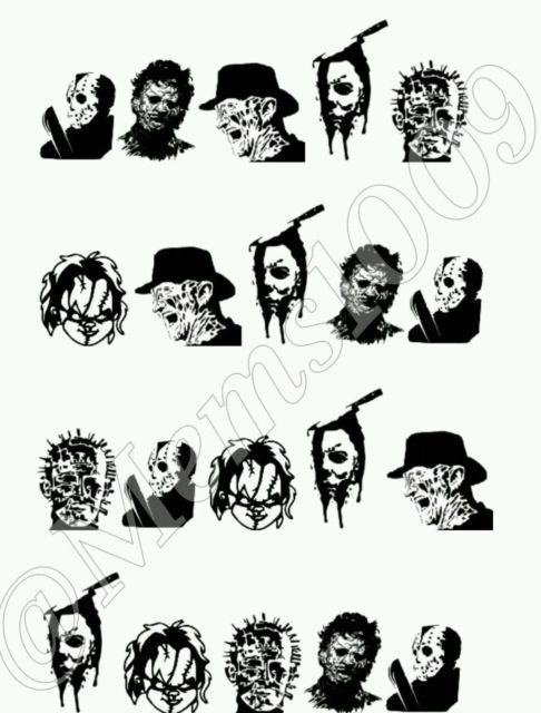 Chucky Clipart Black And White: 105 Best My Ebay Listings Images On Pinterest