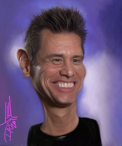 Jim Carrey Caricature by Caricatures-by-Dante.deviantart.com on @deviantART