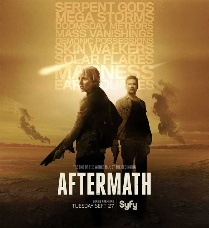 Syfy has ordered a brand new TV series, Aftermath. It is a sci-fi and thriller TV series.