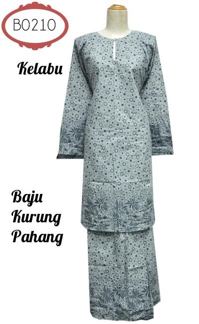 Baju Kurung Pahang - Cotton 0219... Baju kurung Pahang bercorak abstrak dan bunga diperbuat daripada kain cotton. Kain susun tepi, bahagian pinggang berzip dan bergetah. Ada saiz S sehingga XXL.... Harga jual: RM65.00... FREE POSLAJU ke seluruh Malaysia