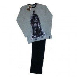 Para Hombre pijama Batman Composición   100% algodón ,presentación en caja de regalo, excelente calidad de color camiseta gris ,con  pantalón negro ,Fabricante nacional Punto Blanco ,