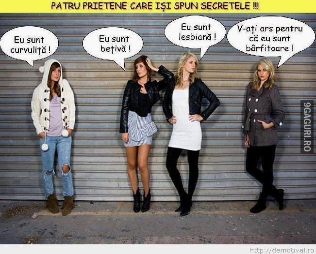 Fetele își spun secretele Link Postare ➡ http://9gaguri.ro/media/fetele-isi-spun-secretele
