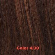 "14"" Silky Straight 100% Human Hair Clip On In Extension 2"" Wide Piece Color 4/30 Medium Dark Brown/Medium Auburn by Aramas. $3.99. 14"" Silky Straight. Ready To Wear, Clips in a few minutes. For any Occasion or Everyday Use. 100% Human Hair Clip In Extensions. 100% Human Hair Clip In Extensions, 14"" Length, 2"" Wide Piece, add color to your hair.  Silky Straight  Clip in takes just a few minutes, Fast and quick way to get fuller hair or add color for any occasion, or ever..."