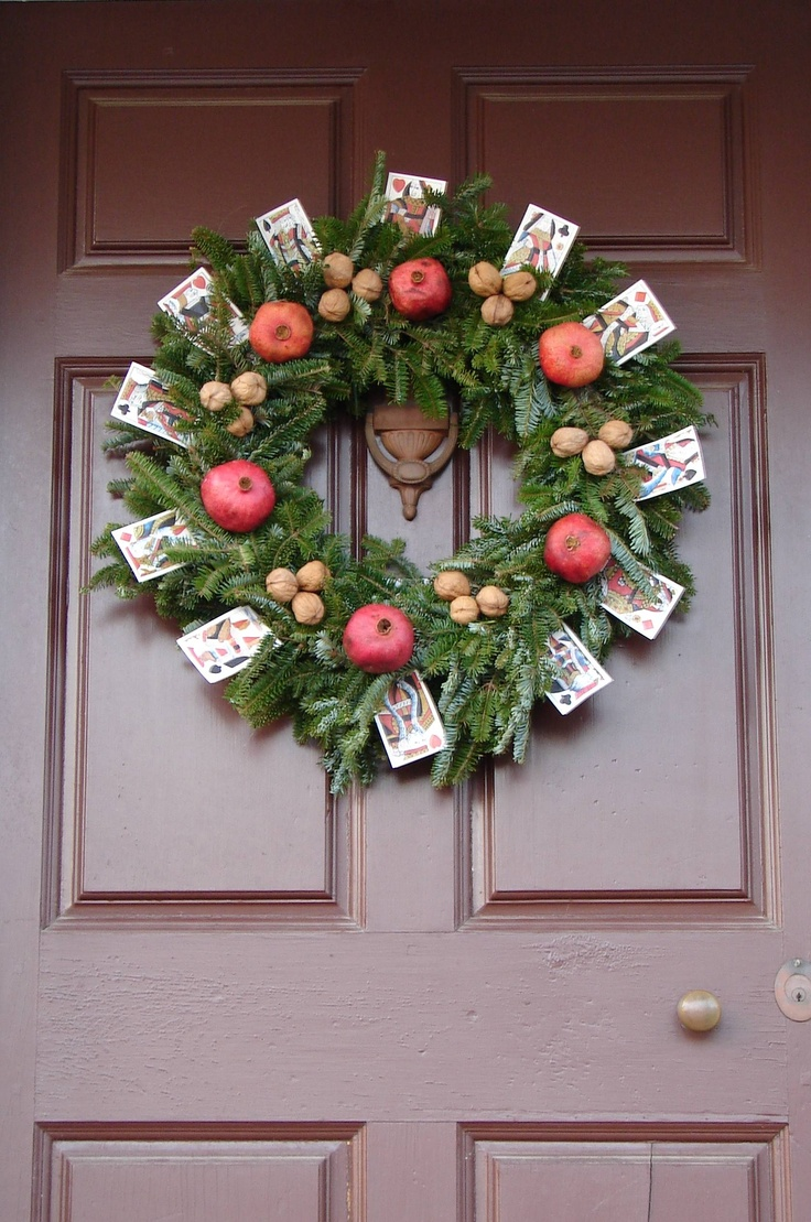 Image Detail For  Williamsburg Christmas Decorations   Photos Of Colonial  Wreaths And .