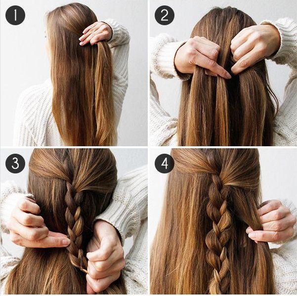 Peinados Rapidos Para Cualquier Ocasion Y Verte Esplendida Peinados Escolares Faciles Peinados Rapidos Peinados Faciles Para Cabello Largo