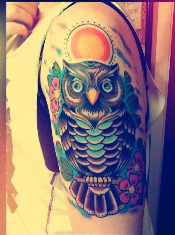 tumblr baykuş dövmeleri
