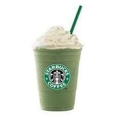 Starbucks Tazo Green Tea Frappuccino