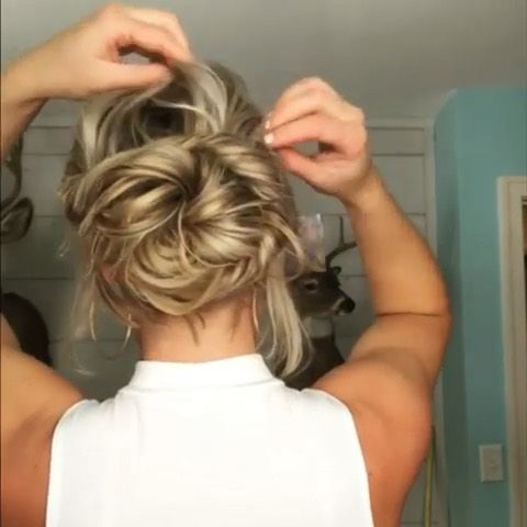 14 easy updos to save you from the hot heat of summer   Well+Good