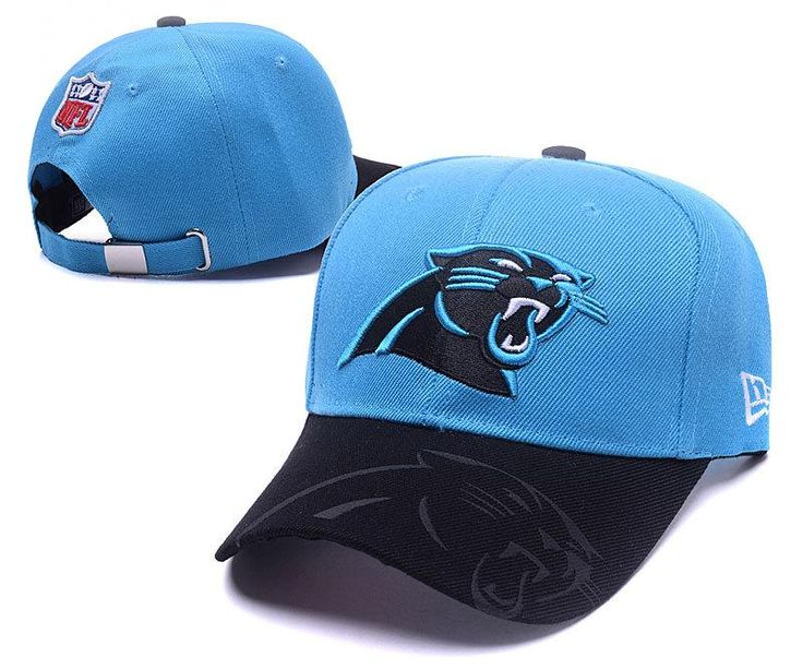 Men's / Women's Carolina Panthers New Era 2016 NFL Sideline Slide Buckle Strap…