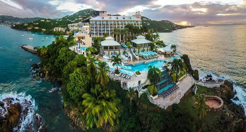 Marriott Frenchman's Reef St. Thomas Hotel / for a romantic getaway, perhaps.