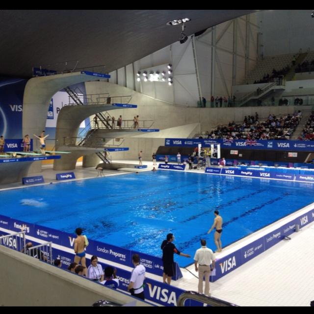 Aquatic centre 2012 London Olympics: Aquatic Centre, London Olympics, Olympic Games, 2012 London