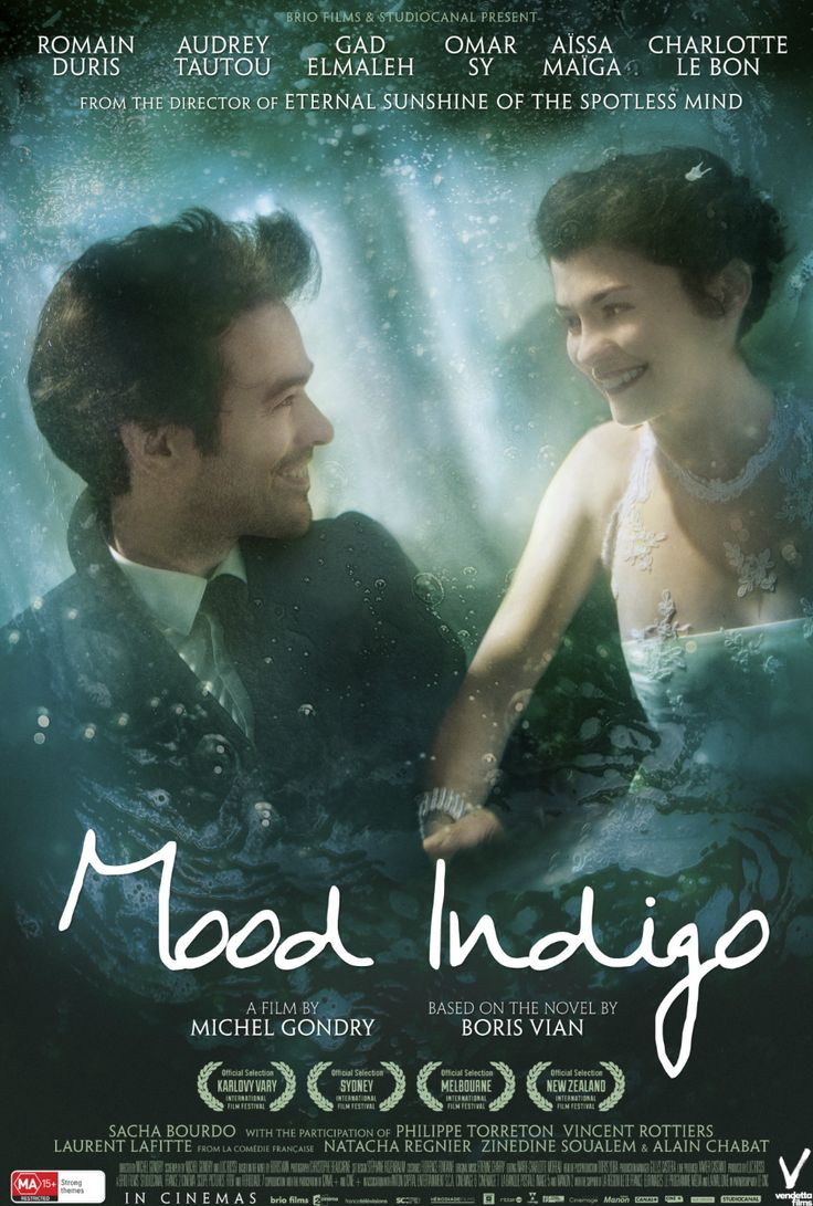 I really enjoyed the visuals in Mood Indigo by Gondry. However, they should have taken it easy on the constant stop motion and silliness and focused more on plot and characters. One thing I loved was the concept of transitioning from vibrance and utopia to utter dreariness, as by the end it's a black and white film. Also, the ending was just devastating, I was hoping for anything to lighten the mood but clearly they didn't want a happy ending.