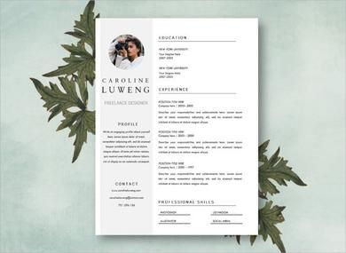 Photographer Resume Template Freelance Photography Resume Example
