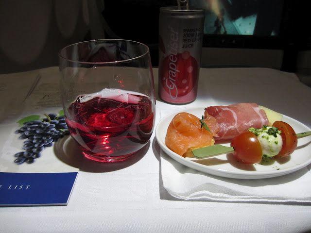 Meal on an SAA flight
