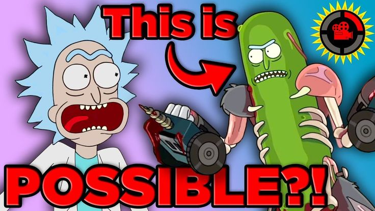 Film Theory: Pickle Rick ACTUALLY WORKS! (Rick and Morty, Feat. DAN HARM...
