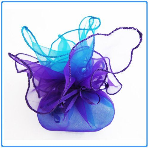 12x Designer Organza Gift Bags for Weddings & Party Favors - 11 inch square - Turquoise and Purple DIYJewelryDepot http://www.amazon.com/dp/B005K71IAO/ref=cm_sw_r_pi_dp_FgERtb1249EEXHVH