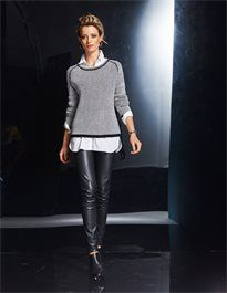 Damen Pullover in Boxyform mit Kaschmir. #madeleinefashion