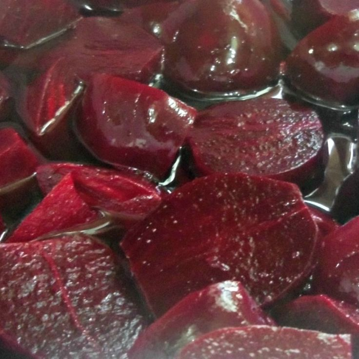 CANNED HARVARD BEETS (SWEET)